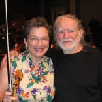 Willie Nelson and Kristi Seehafer